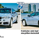 BMW X6 2015 rendering