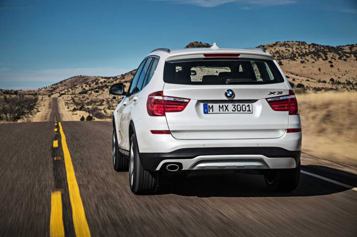 BMW X3 F25 2015 Facelift 2014
