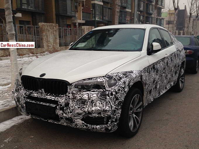 BMW X6 2015 F16 Spy Photo
