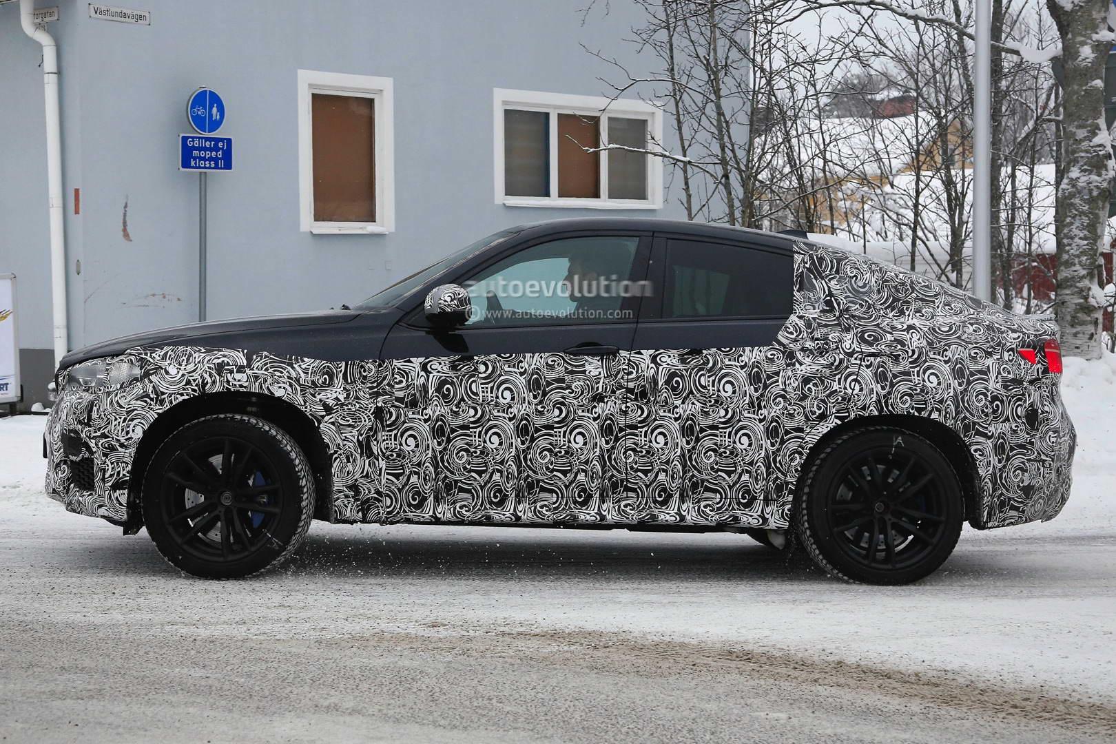 BMW X6 M 2015 F86 spy