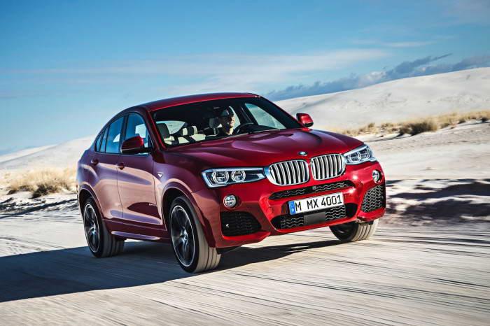 BMW X4 2014 Видео