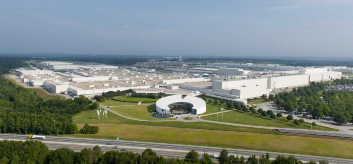 BMW plant Spartanburg
