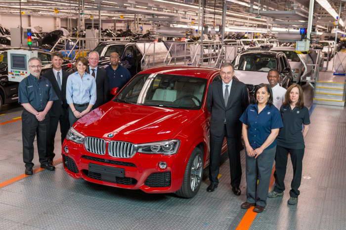 BMW plant Spartanburg