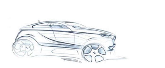 BMW X2 2017 рисунок