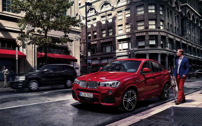 wallpaper BMW X4 2014
