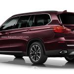BMW X7 2016 фото сзади