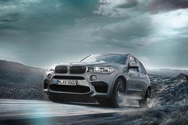 Обои BMW X5 M 2015