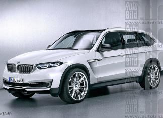 BMW X7 2018 рендеринг