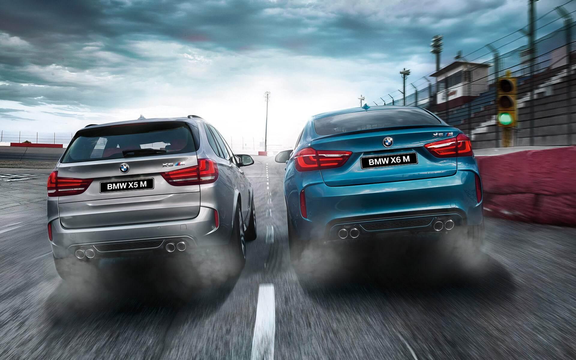 Характеристики BMW X5 M 2015 и BMW X6 M 2015