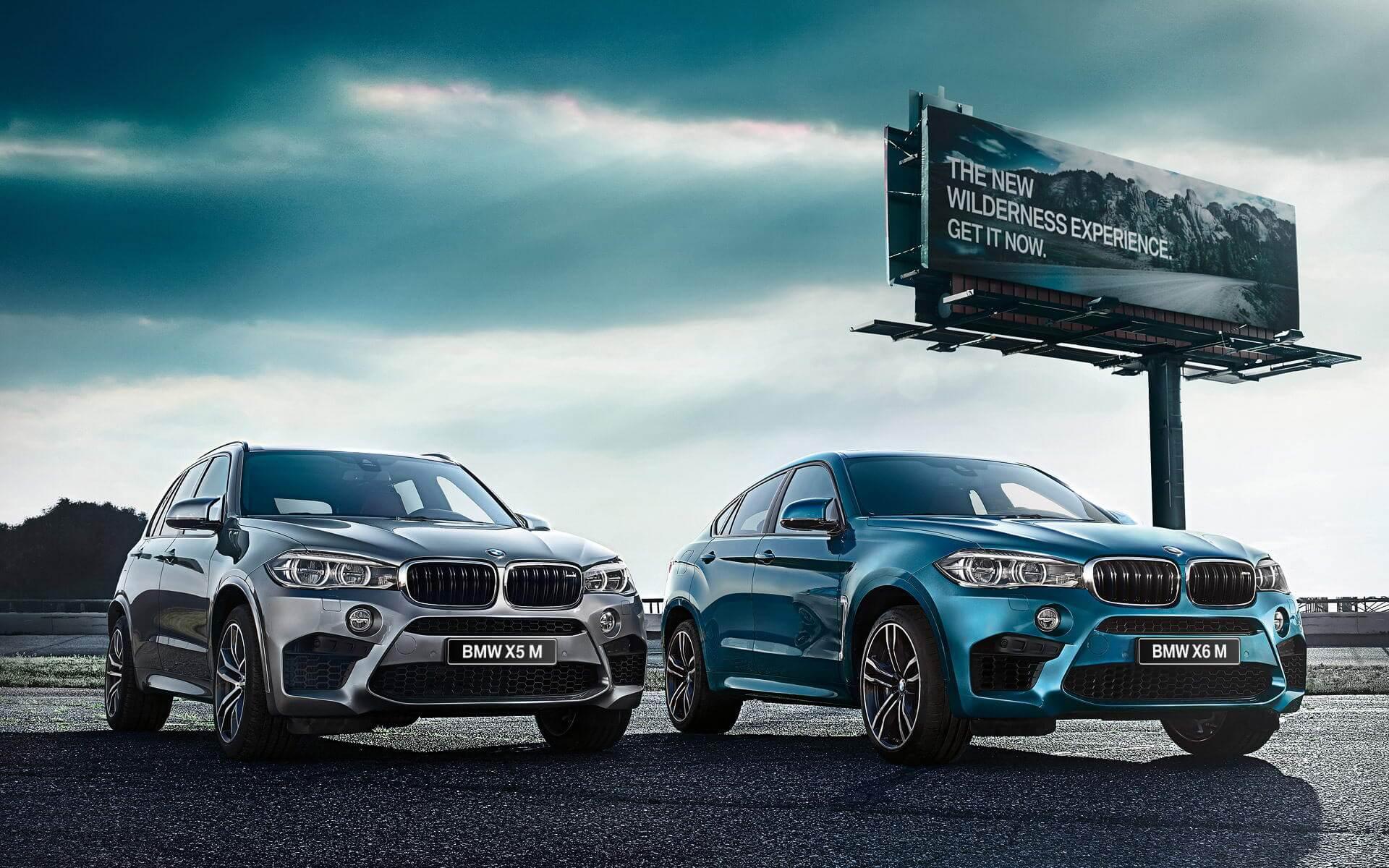 купить BMW X5 M 2015 и BMW X6 M 2015