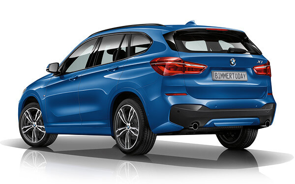 BMW X1 2016 M Sport Package фото задняя часть