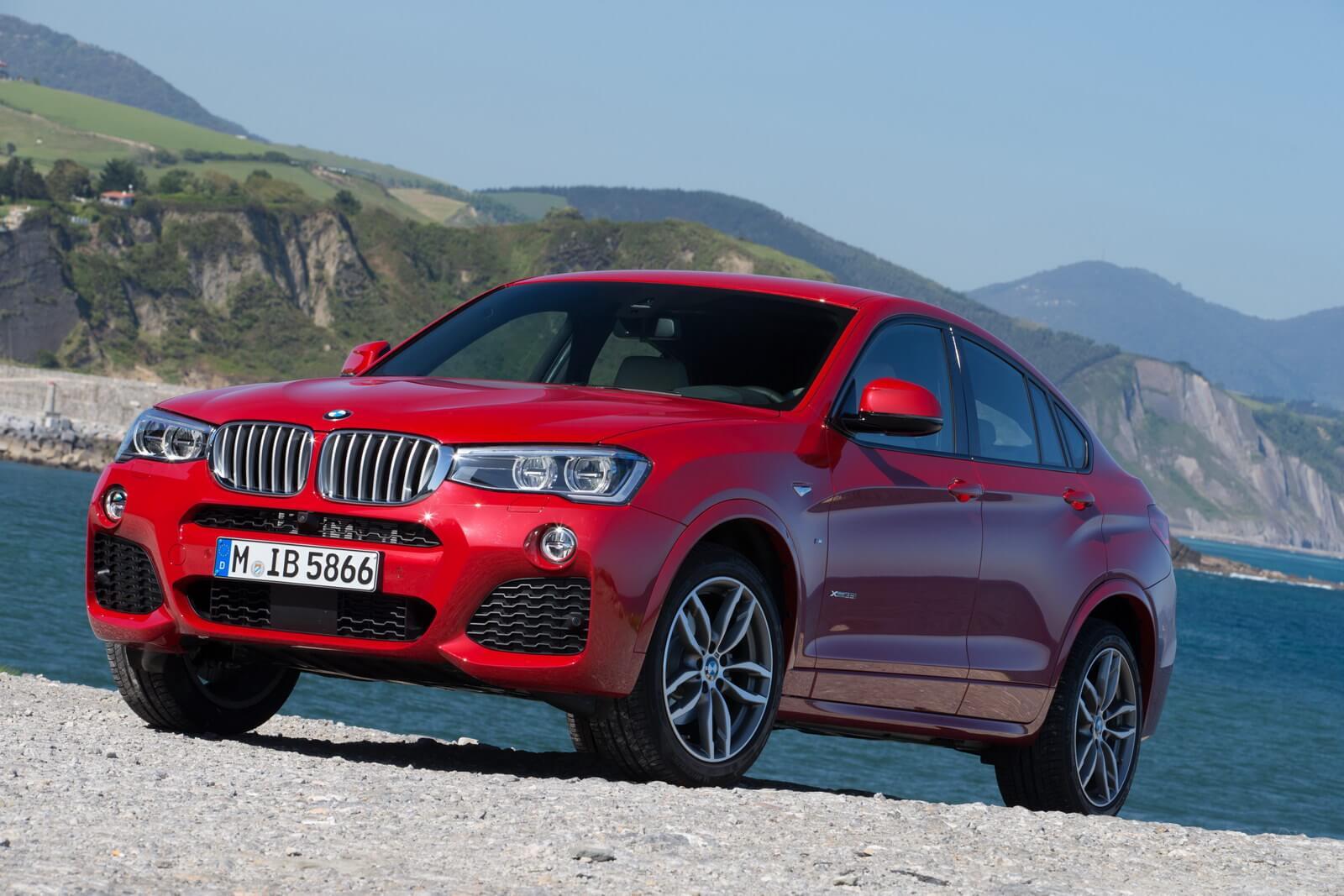 Крупноузловая сборка BMW X4 в России
