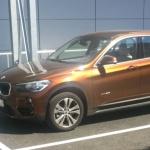 живые фото BMW X1 2015