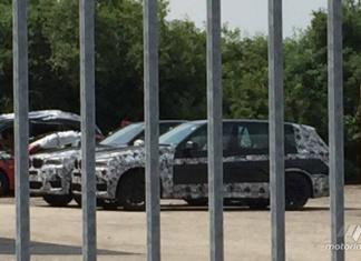 образец BMW X7 2018