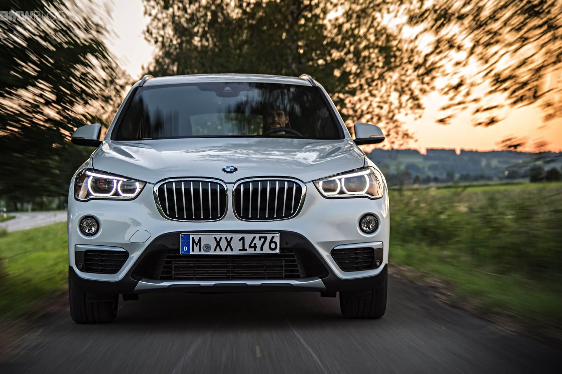 Гибридный BMW X1 2016