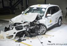 Краш-тест BMW X1 F48