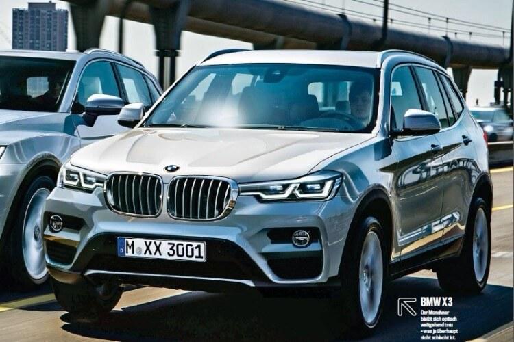 BMW X3 нового поколения