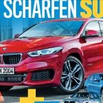 свежий рендеринг BMW X2 2017