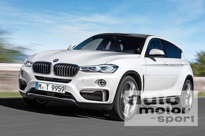 фото рендеринг BMW X2 2017