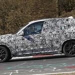 шпионские фото BMW X3 2017