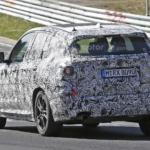BMW X3 2017 нюрбургринг