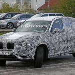 2018 BMW X3 G01 шпионское фото