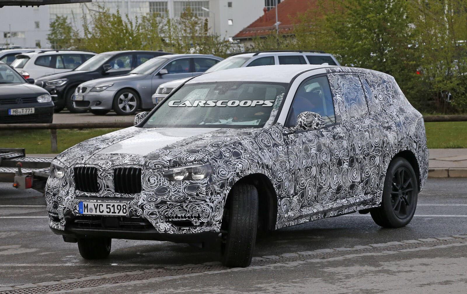 Фотографии салона BMW X3 2017