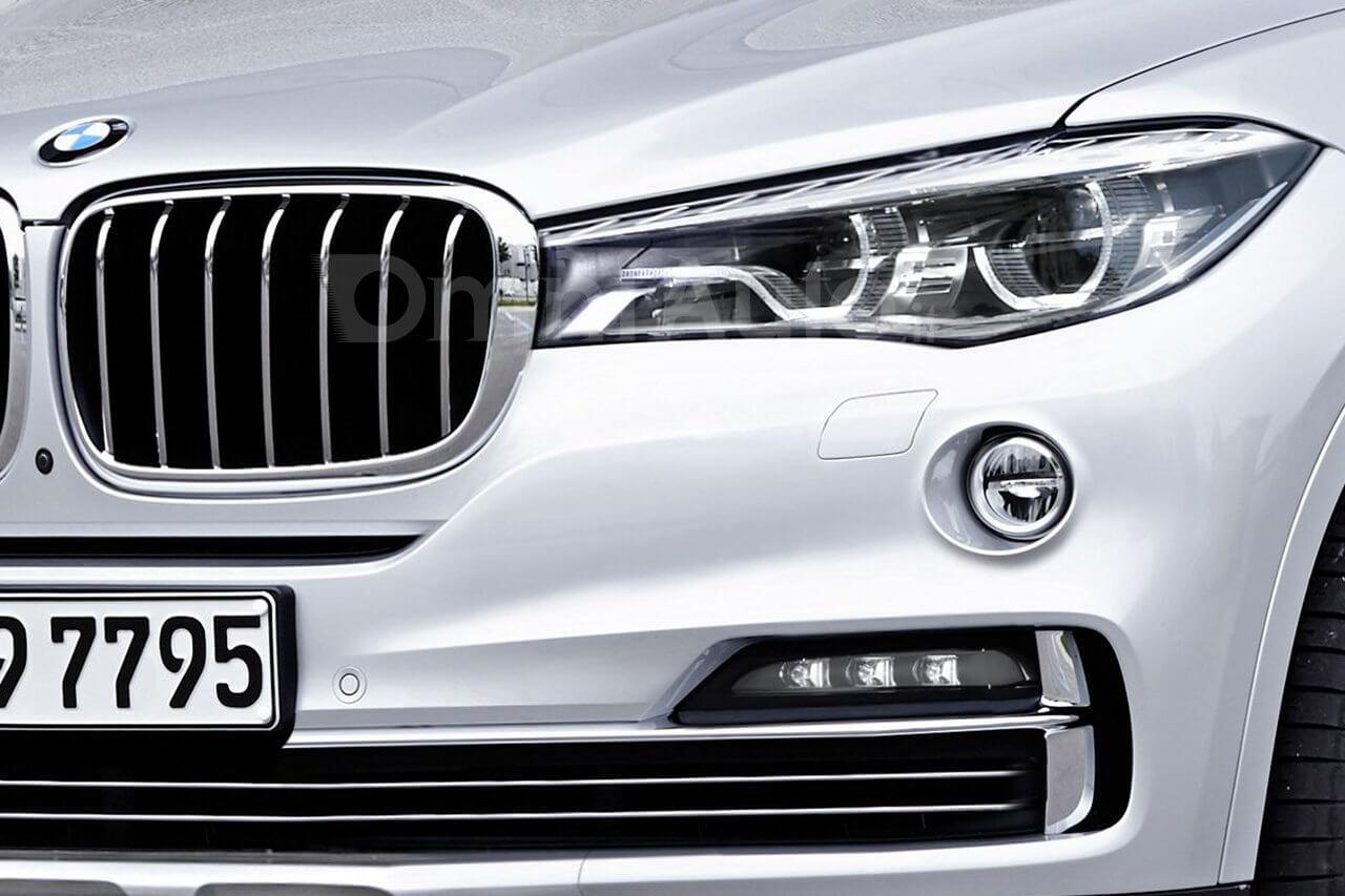BMW X7 2019 фото рендеринг