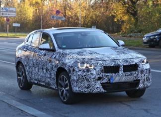 Шпионские фото BMW X2 2017