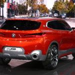 BMW X2 автосалон в париже 2016