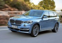 Рендеринг BMW X7 2019