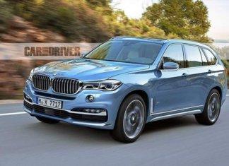 Рендеринг BMW X7 2019