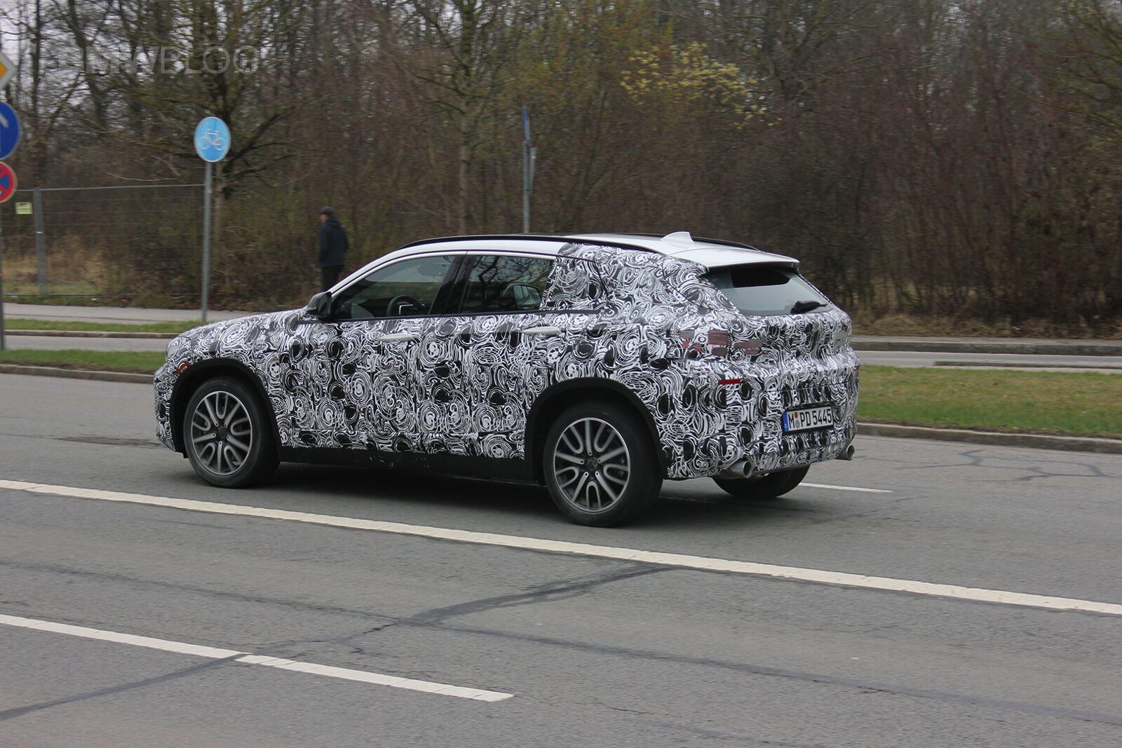 Прототип BMW X2 2018