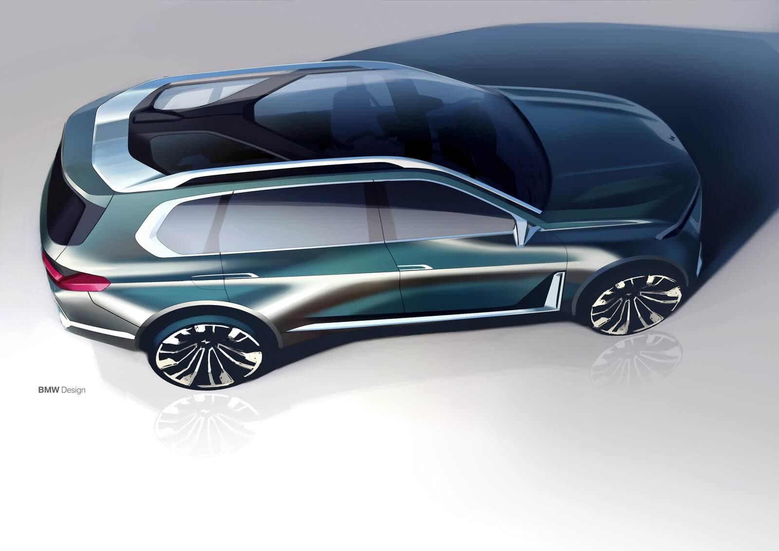 Фотографии BMW X7 iPerformance Concept