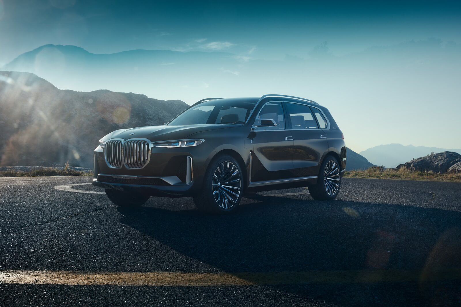 Фотографии BMW X7 iPerformance Concept