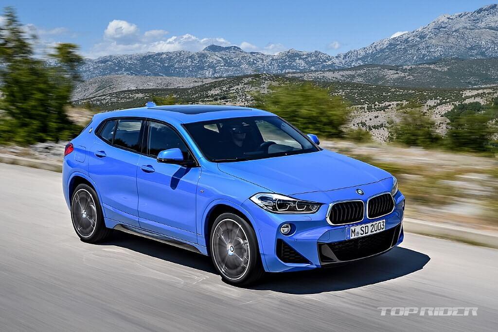 Представлен BMW X2 2018 F39